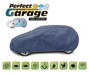 Mäkká membránová ochranná Plachta na celé auto PERFECT GARAGE hatchback Lancia Y od 2011 d. 380-405 cm