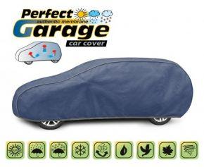 Mäkká membránová ochranná Plachta na celé auto PERFECT GARAGE hatchback/kombi Volvo 850 kombi 1991-1997 d. 455-485 cm