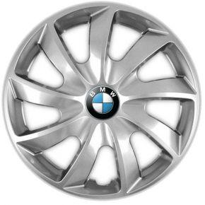 "Puklice pre BMW 17"", QUAD SIVÉ 4ks"