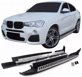 Bočné nášlapy pre BMW X4 F26 2014-2018