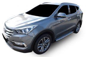 Bočné nášlapy pre Hyundai Santa Fe 2013-2018