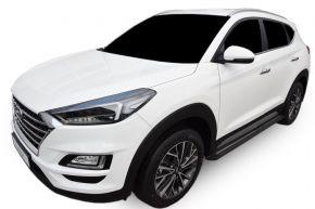 Bočné nášlapy pre Hyundai Tucson 2015-up BLACK