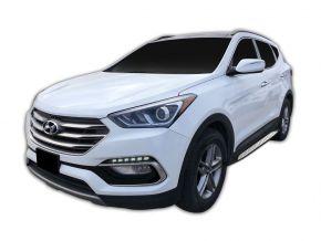 Bočné nášlapy pre Hyundai Santa Fe 2018-up