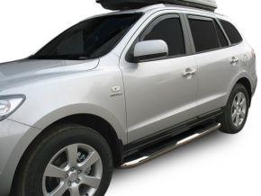 Bočné nerezové rámy pre Hyundai Santa Fe 2006-2012