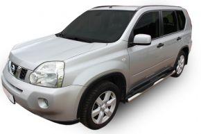 Bočné nerezové rámy pre Nissan X-Trail T31 2007-2013