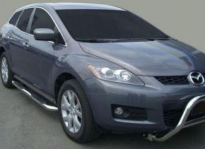 Bočné nerezové rámy pre Mazda CX-7 2007-up