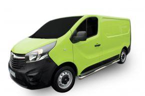 Bočné nerezové rámy pre Opel Vivaro 2002-2011