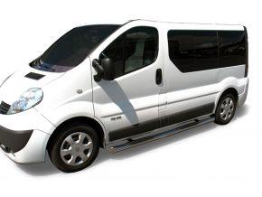 Bočné nerezové rámy pre Renault Trafic 2002-2011