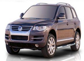 Bočné nerezové rámy pre Volkswagen Touareg 2002-2010