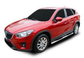 Bočné nerezové rámy pre Mazda CX-5 2012-2016