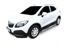 Bočné nerezové rámy pre Opel Mokka 2012-up