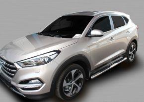 Bočné nerezové rámy pre Hyundai Tucson 2015-up