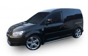 Bočné nerezové rámy pre Volkswagen Caddy 2003-2015, 60,3 mm