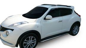 Bočné nerezové rámy pre Nissan Juke 2010-2014 / 2014-2019 60,3 mm