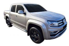Bočné nerezové rámy pre Volkswagen Amarok 2010-2016, 2016-up