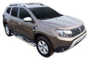 Bočné nerezové rámy pre Dacia Duster 2 2018-up