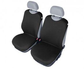 Autotričká SHIRT COTTON na predné sedačky čierne pre dodávky mikrobusy
