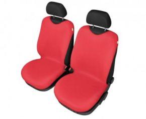 Autotričká SHIRT COTTON na predné sedačky červené pre dodávky mikrobusy