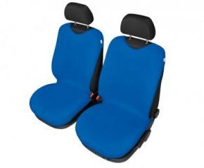 Autotričká SHIRT COTTON na predné sedačky modré pre dodávky mikrobusy
