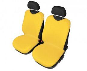 Autotričká SHIRT COTTON na predné sedačky žlté Autotričká do osobných automobilov