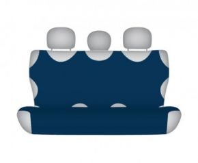 Autotričko COTTON na zadnú nedelenú sedačku tmavo modré Autotričká do osobných automobilov
