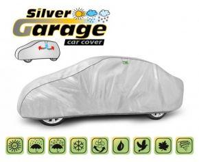 Tieniaca a protidažďová plachta SILVER GARAGE sedan Lancia Lybra d. 425-470 cm