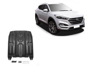 Oceľový kryt motora a prevodovky Hyundai Tucson TL 2WD/4WD 1,6GDI;2WD/4WD 2,0MPI; 2WD/4WD 2,0CRDI; 2WD/4WD 1,6T (177hp) 2015-