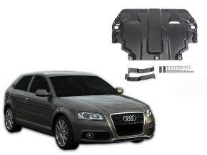 Oceľový kryt motora a prevodovky Audi A3 8P pasuje na všetky motory 2003-2012