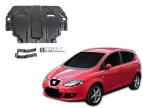 Oceľový kryt motora a prevodovky Seat Altea 1,6; 2,0TDI; 2,0TSI 2004-2015