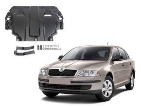 Oceľový kryt motora a prevodovky Skoda  Octavia А5 pasuje na všetky motory 2008-2013