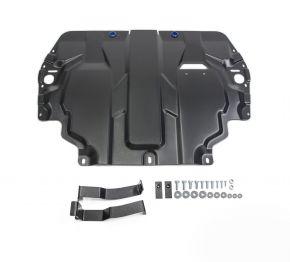Oceľový kryt motora a prevodovky Skoda  Superb 1,4; 1,8; 2,0; 3,6 2008-2014