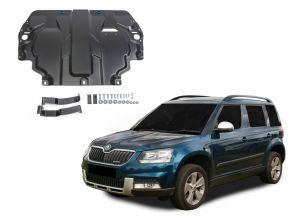 Oceľový kryt motora a prevodovky Skoda  Yeti pasuje na všetky motory 2009-2017