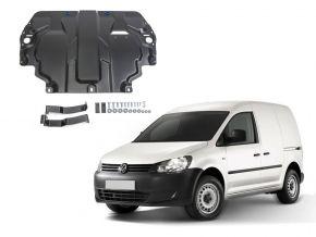 Oceľový kryt motora a prevodovky Volkswagen  Caddy IV pasuje na všetky motory (w/o heating system) 2015-