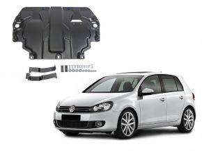 Oceľový kryt motora a prevodovky Volkswagen  Golf VI pasuje na všetky motory 2009-2013