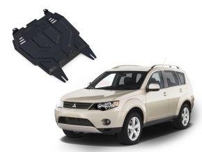 Oceľový kryt motora a prevodovky Mitsubishi Outlander  2,0; 2,4 2007-2012