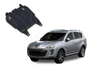 Oceľový kryt motora a prevodovky Peugeot  4007 2,2; 2,4 2007-2012