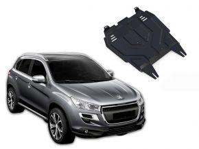 Oceľový kryt motora a prevodovky Peugeot  4008 pasuje na všetky motory 2012