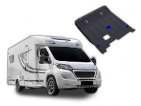 Oceľový kryt motora a prevodovky Peugeot  Boxer Caravan pasuje na všetky motory 2014