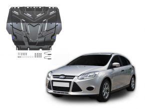 Oceľový kryt motora a prevodovky Ford  Focus III pasuje na všetky motory 2011-2018