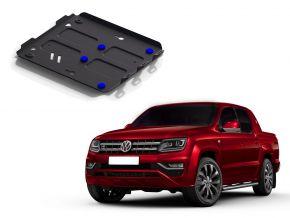 Oceľový kryt motora a chladiča pre Volkswagen Amarok 2,0TDI; 3,0TDI 2010-2016 , 2016-