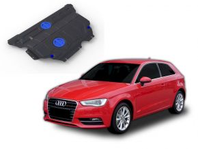 Oceľový kryt motora a prevodovky Audi A3 FWD/4WD 1,2TSI; FWD/4WD 1,4TFSI; FWD/4WD 1,8TFSI; FWD/4WD 1,8TSI 2012-