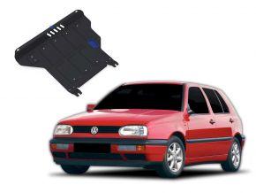 Oceľový kryt motora a prevodovky Volkswagen Golf III  MT 1,4; 1,6; 1,8; 2,0; 1,9TD 1991-1997