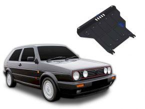 Oceľový kryt motora a prevodovky Volkswagen Golf II MT pasuje na všetky motory 1986-1992