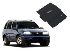 Oceľový kryt motora a prevodovky Chevrolet Tracker pasuje na všetky motory 1998-2004