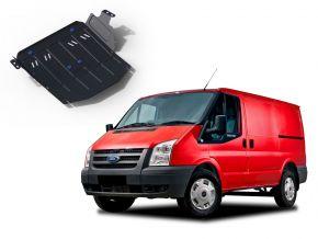 Oceľový kryt motora a prevodovky Ford Transit  RWD 2,2TD; RWD 2,4TD (iba pre uvedenu motorizaciu!) 2007-2015