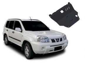 Oceľový kryt motora a prevodovky Nissan X-Trail pasuje na všetky motory 2001-2007