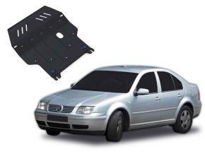 Oceľový kryt motora a prevodovky Volkswagen Bora pasuje na všetky motory 1998-2005