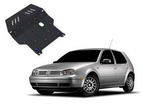 Oceľový kryt motora a prevodovky Volkswagen Golf IV pasuje na všetky motory 1998-2005