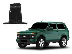 Oceľový kryt motora a prevodovky Lada 4x4 / Niva / Taiga / Urban pasuje na všetky motory 2001-2015; 2015-