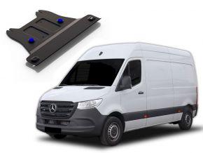 Oceľový kryt prevodovky pre MERCEDES BENZ SPRINTER 2WD 311CDI; 2WD 315CDI; 2WD 515CDI (iba pre uvedenu motorizaciu!) 2009-2013